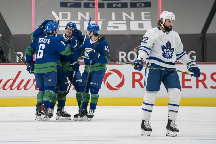 Toronto Maple Leafs, Vancouver Canucks
