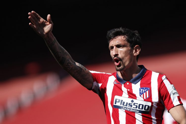 Atletico Madrid's Stefan Savic
